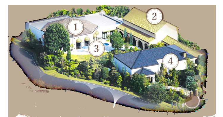 ザ・ハウス・オブ ブランセ 施設マップ